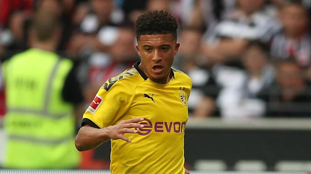 He has been linked with some of Europe's biggest clubs but Borussia Dortmund fans have signalled their appreciation of Jadon Sancho.
