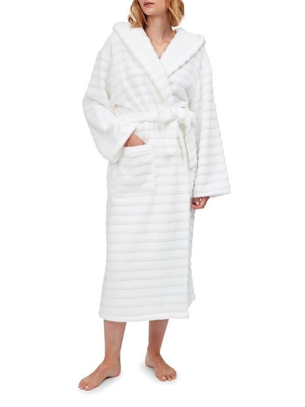 "Plush bathrobes are a regular on the gifting circuit, but instead of going for another terry cloth option, try The White Company's ribbed cotton version. Reviewers say it's long and warm, and feels just like being wrapped in a cloud. $135, Nordstrom. <a href=""https://www.nordstrom.com/s/the-white-company-hooded-ribbed-hydrocotton-robe/5690422"" rel=""nofollow noopener"" target=""_blank"" data-ylk=""slk:Get it now!"" class=""link rapid-noclick-resp"">Get it now!</a>"