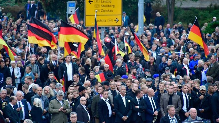Far-right groups and thousands of local citizens took to the streets in the days after the stabbing of a German in the eastern city of Chemnitz