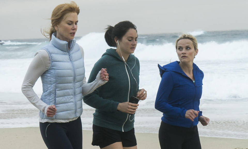 <p>This soapy potboiler earned plaudits for its A-list cast (Nicole Kidman, Reese Witherspoon) playing a group of mums in a wealthy coastal town who find themselves embroiled in family politicking.<br>Photo: Sky </p>