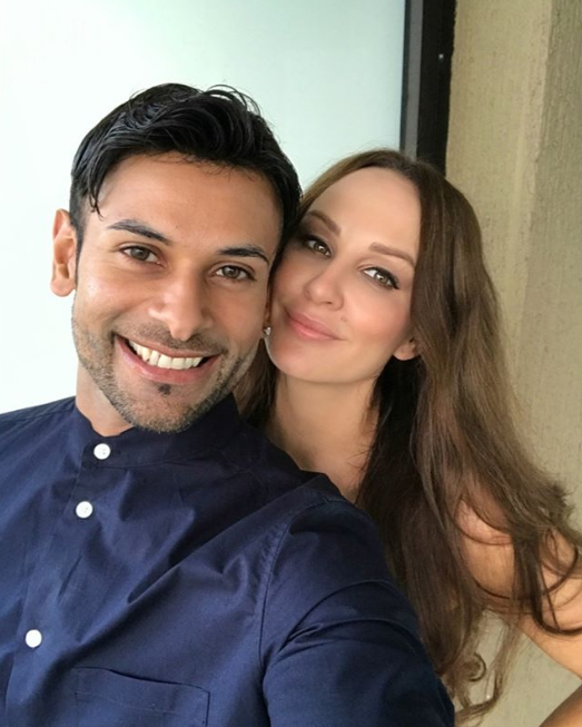 She was paired with Dino Hira on the show. Photo: Instagram/mellucarelli