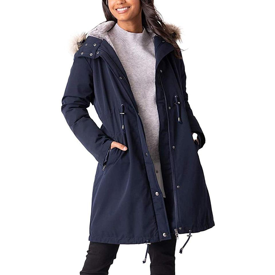 Maternity Jacket Quilted 3 in 1 Technology