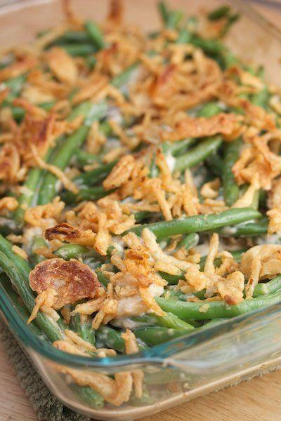 "<strong>Get the <a href=""http://bigflavors.blogspot.com/2010/11/thanksgiving-classic-green-bean.html"">Classic Green Bean Casserole recipe from Big Flavors from a Tiny Kitchen</a></strong> For those of you who are <em>quite</em> ready to give up condensed cream of mushroom soup in this casserole."