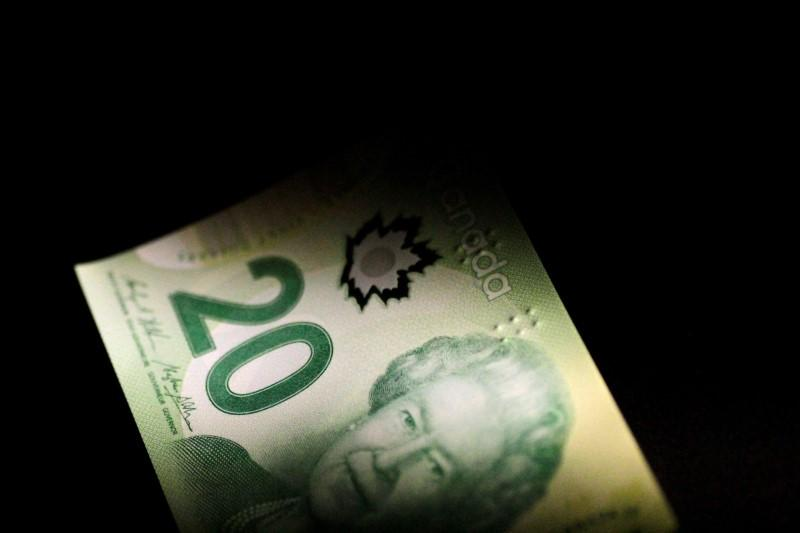 Illustration photo of a Canada Dollar note