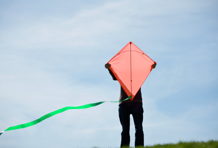 You could get into trouble for flying a kite (Picture: Rex)
