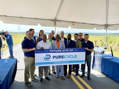 PureCycle Technologies, Inc. has reached an agreement with The Augusta Economic Development Authority to build its first U.S. cluster facility to produce ultra-pure recycled polypropylene from waste polypropylene.
