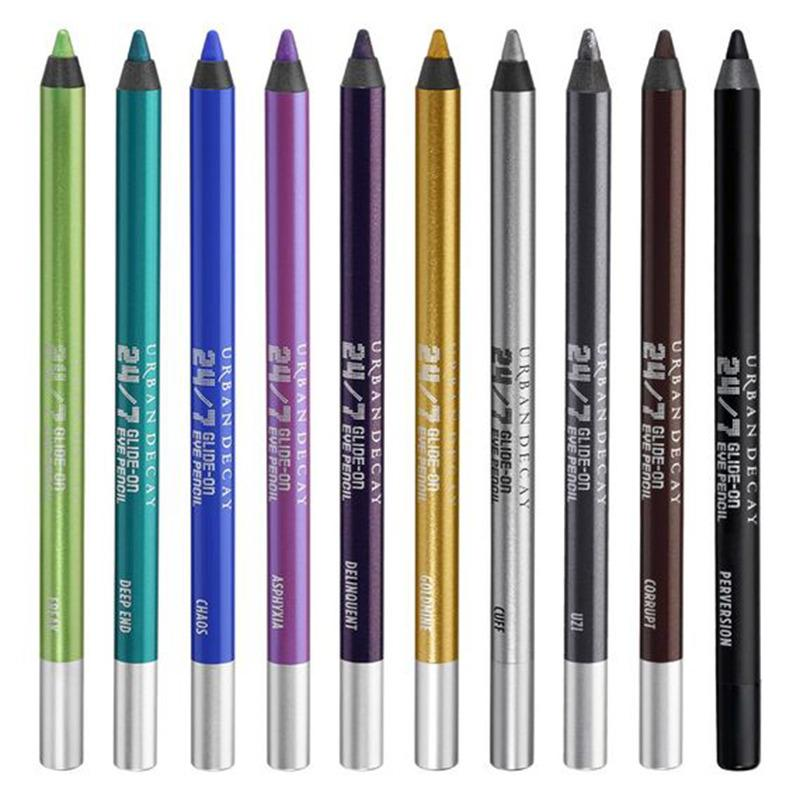 "<p>As for eyeliner, makeup artist Ashleigh Ciucci is a fan of <a href=""http://www.urbandecay.com/24-7-glide-on-eye-pencil/122.html"">Urban Decay 24/7 Glide-on Pencil</a>. ""They come in a full range of shades and textures and they're waterproof? They're the pencil for the job when it comes to fighting wedding tears,"" she says. <i>(Photo: Urban Decay)</i></p>"