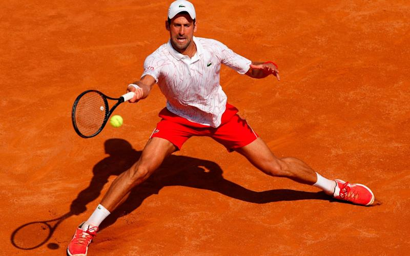 He did not face a single break point against Salvatore Caruso - GETTY IMAGES
