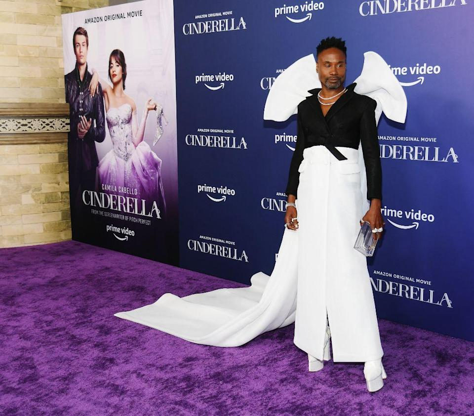 Billy Porter attends the premiere of Amazon Studios' 'Cinderella' at the Greek Theatre on August 30. 2021 in Los Angeles, California. - Credit: Michael Buckner for PMC
