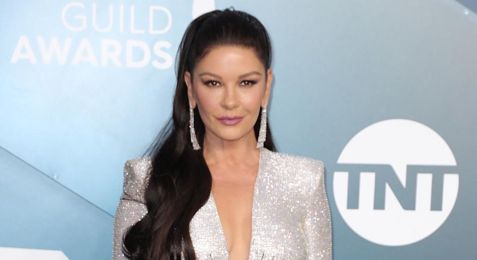 Catherine Zeta-Jones has opened up about her remarkably simple skincare habits. (Getty Images)