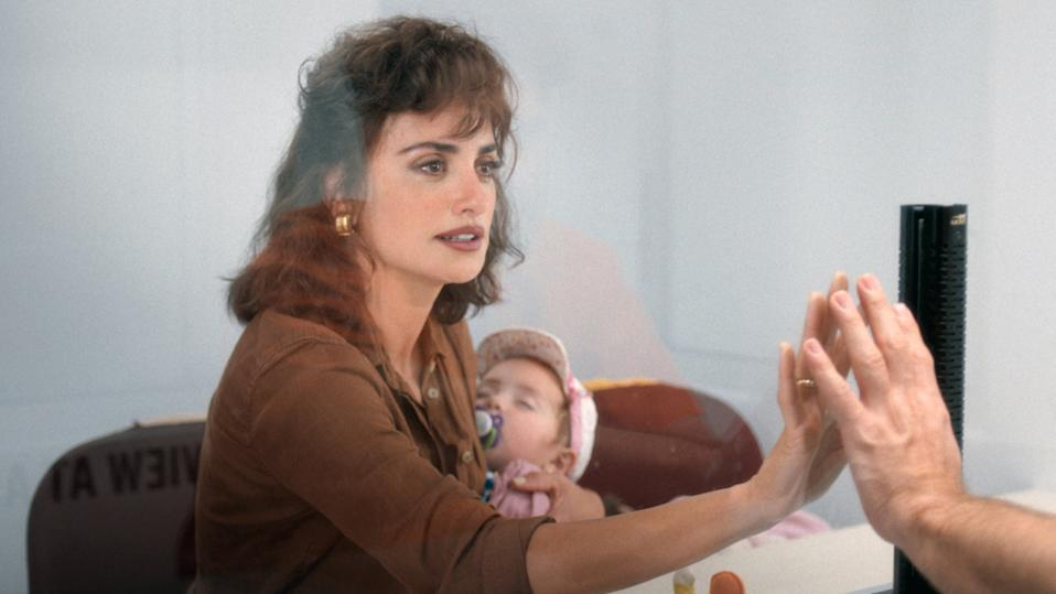 Penelope Cruz in a still from Wasp Network. (Netflix)