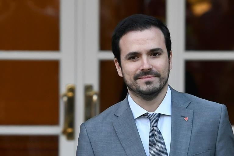 Minister Alberto Garzon criticised Spaniards' high meat consumption in a Twitter thread