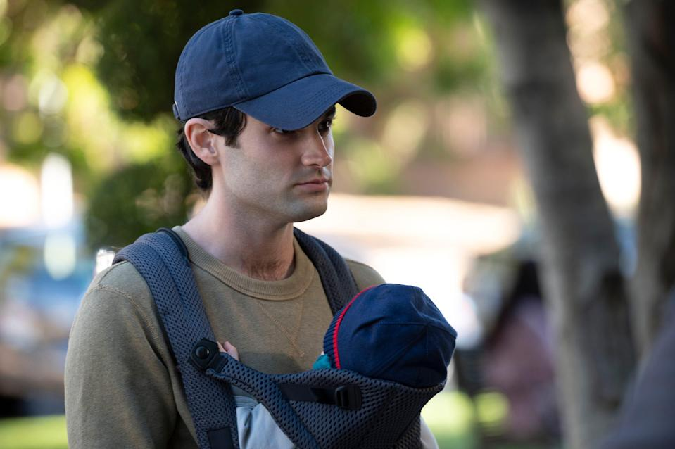 """Penn Badgley's Joe is a father in the third season of Netflix's """"You."""""""