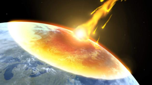 The ESA predicts the effects of an asteroid could be similar to that of a hydrogen bomb (Sky News)