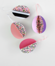 """<p>A few cuts and folds — and some pretty paper, of course — will leave you with these paper Easter eggs that you can hang anywhere, from the tree in your yard to a garland. <br><br><em><a href=""""https://www.whitehousecrafts.net/post/2019/03/23/3d-paper-easter-egg-ornaments-with-free-template"""" rel=""""nofollow noopener"""" target=""""_blank"""" data-ylk=""""slk:Get the tutorial at White House Crafts »"""" class=""""link rapid-noclick-resp"""">Get the tutorial at White House Crafts »</a></em></p>"""