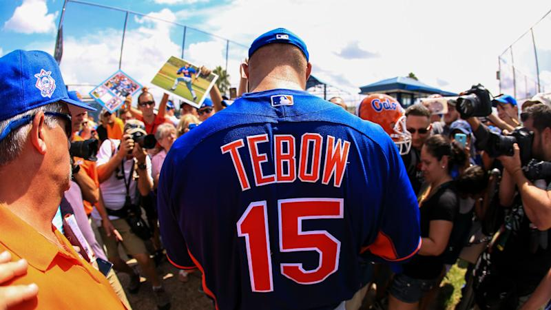 Mets will send Tim Tebow to Single-A Columbia Fireflies to start season