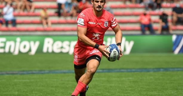 Rugby - Top 14 - ST - Toulouse : Cheslin Kolbe arrière, Thomas Ramos ouvreur contre le Racing 92