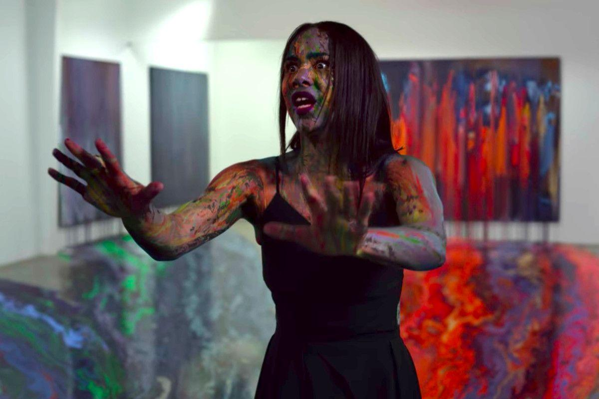 """<p>This horror satire from <em>Nightcrawler</em> director Dan Gilroy is a mix of <em>The Square </em>and <em>Eyes of Laura Mars</em>, with Jake Gyllenhaal starring as an art critic who discovers that the mysterious paintings by an unknown artist have supernatural abilities—and take their revenge on anyone attempting to profit off of them.</p><p><a class=""""body-btn-link"""" href=""""https://www.netflix.com/watch/80199689?trackId=13752289&tctx=0%2C0%2C1b0600b8-8c5b-4fae-b528-04b4c15a29e8-10414262%2C%2C"""" target=""""_blank"""">Watch Now</a></p>"""
