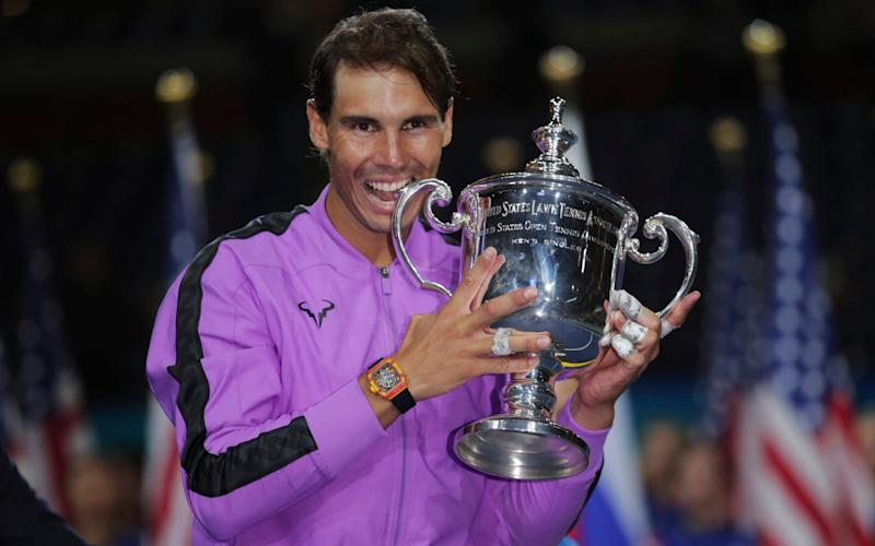 Rafael Nadal won the 2019 US Open after beating Russia's Daniil Medvedev in the final -Rafael Nadal looking increasingly unlikely to defend US Open title as he commits to Madrid Masters - AP