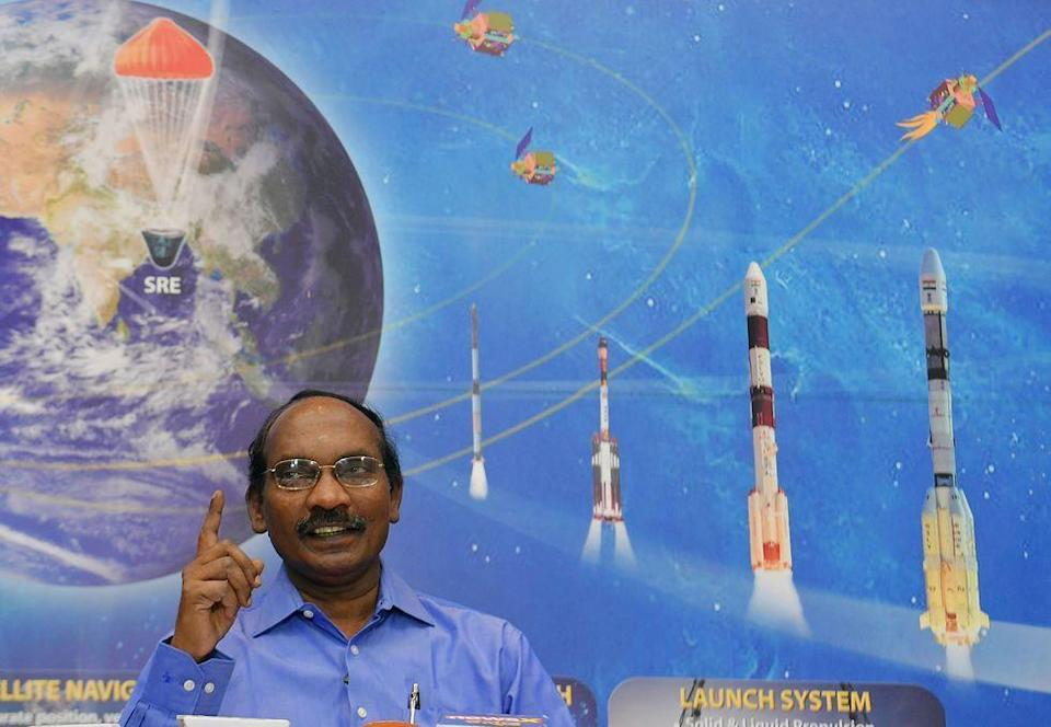 """<p>The Indian Space Research Organisation (ISRO) is planning to send the <a href=""""https://economictimes.indiatimes.com/news/science/indias-first-manned-space-mission-to-send-3-persons/articleshow/65576098.cms?from=mdr"""" rel=""""nofollow noopener"""" target=""""_blank"""" data-ylk=""""slk:first group of Indian astronauts"""" class=""""link rapid-noclick-resp"""">first group of Indian astronauts</a> into space between 2021 and 2022 for a duration of approximately a week.</p><p>The astronauts (one of which will be a female military pilot) are expected be chosen for Gaganyaan (the moniker given to the spacecraft) sometime this year.</p>"""