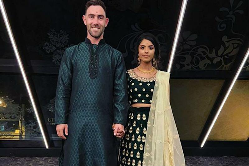 Glenn Maxwell Goes All Indian in Engagement Ceremony