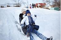 "<p>Sledding is such a fun winter activity to do with the kids, and it's always nice to warm up with a mug of hot cocoa afterwards.</p><p><a class=""link rapid-noclick-resp"" href=""https://www.amazon.com/Slippery-Racer-Downhill-Xtreme-Toboggan/dp/B06XKD6XGL/?tag=syn-yahoo-20&ascsubtag=%5Bartid%7C10063.g.34864266%5Bsrc%7Cyahoo-us"" rel=""nofollow noopener"" target=""_blank"" data-ylk=""slk:SHOP SLEDS"">SHOP SLEDS</a></p>"