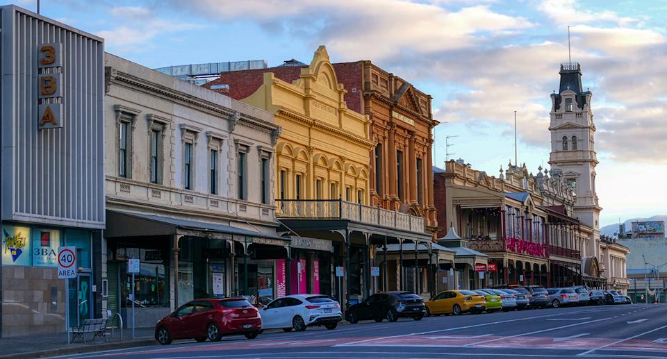 A  7-day lockdown in Ballarat was announced on Wednesday.  Source: Getty