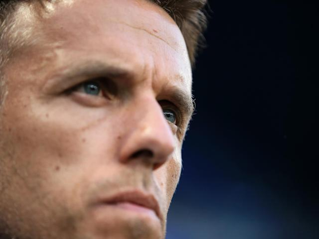 """Phil Neville believes his England side is fully briefed and prepared for football's latest rule changes ahead of Wednesday's final group game with Japan, having seen VAR cause controversy across the Women's World Cup.Neville claimed not be surprised that France were controversially allowed to retake their penalty against Nigeria on Monday night when goalkeeper Chiamaka Nnadozie was penalised for coming off her goal-line.England have already benefitted from recent changes to the handball rule, with Nikita Parris converting from the spot against Scotland after Nicola Docherty was penalised for an apparently unintentional offence.""""The penalty decision wasn't a grey area for anyone who's had those meetings in the World Cup,"""" Neville said. """"You guys probably don't agree with the rule itself, never mind the decision. When we saw that last night, we weren't surprised. """"Our three goalkeepers have grilled the referees about the rules and what is expected. Those are the rules. It's like our penalty against Scotland, as soon as it happened we'd been taught that it would be given as a penalty. """"You can actually say VAR is working,"""" Neville added. """"Those are the rules, and the referees and the VARs are agreeing to the rules that are in place and that we'll see next season as well.""""Lucy Bronze, the England defender, was not fazed by the decision either. """"Watching the game last night, it is the rule book. Our goalkeepers asked the referees about over and over about this question so that we were clear on every single rule. """"It's something we're very aware of. There are rule changes and VAR that we need to be aware of, but as long as we know what we're doing and follow the rules as best we can we'll be fine.""""Neville intends to play a full-strength side against Japan, despite England having already qualified for the knock-out stages. A draw in Nice will be enough to ensure that the Lionesses top the group.In last year's men's World Cup, Gareth Southgate rested players in the final gr"""