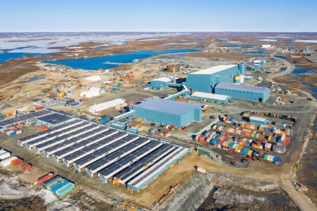 Agnico Eagle's Meliadine gold mine is 25 kilometres north of Rankin Inlet, Nunavut. The company said Friday afternoon it was suspending a crew change there and at its Meadowbank Complex for employees from Rankin Inlet after someone in the community tested positive for COVID-19. (Submitted by Agnico Eagle - image credit)