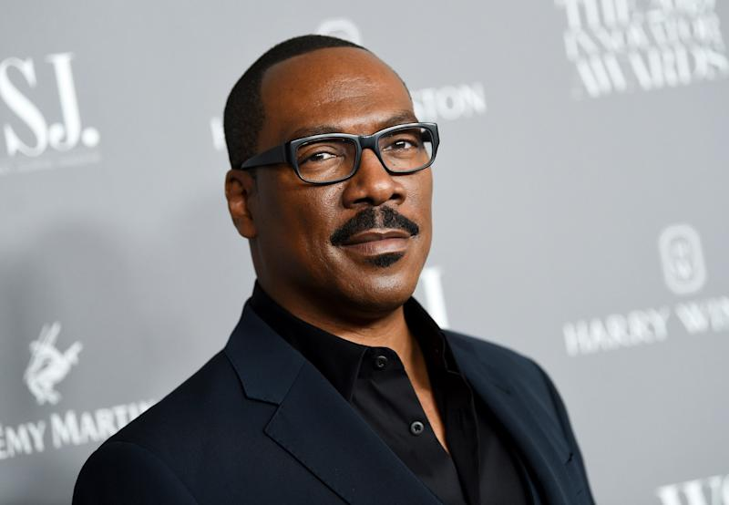 Actor comedian Eddie Murphy from Honoree participates in the WSJ. Magazine 2019 Innovator Awards on Wednesday, November 6, 2019, at the Museum of Modern Art in New York.