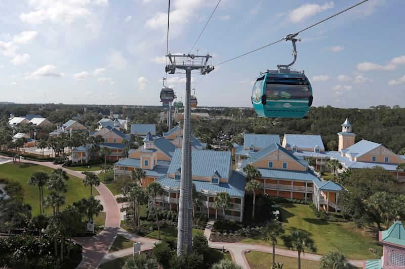Guests Stuck for Hours on Disney World's Skyliner Gondolas, Ride Closes a Week After Opening