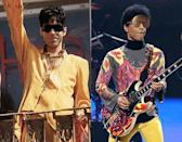 Prince has been around for over thirty years so it's quite surprising that a music star could look as good as he did in 1994 as he does now. We have no idea what is up with his eyewear but the singer still looks great!