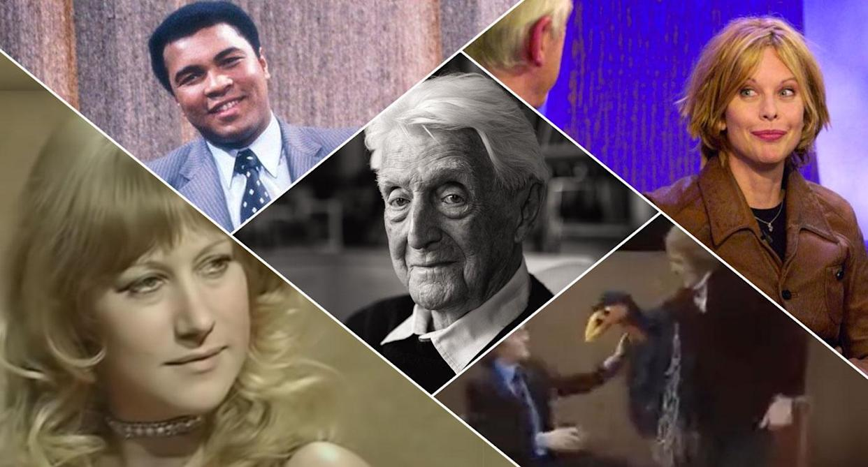 Michael Parkinson is celebrating 50 years of television history (BBC)