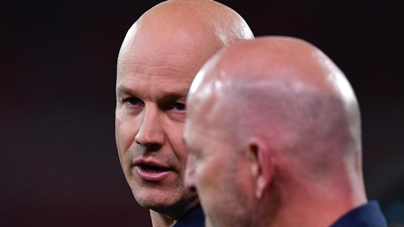 Crows coach Matthew Nicks (l) was unhappy with his side's display against Port