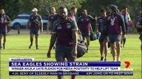 Manly's senior players have hit back at the media after a week from hell for the Sea Eagles, on and off the field.