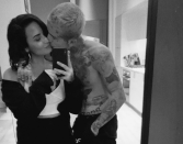"""<p>November brought Lovato's relationship with 25 year old model <a href=""""https://www.elle.com/culture/celebrities/a29782908/who-is-austin-wilson-demi-lovato-boyfriend/"""" rel=""""nofollow noopener"""" target=""""_blank"""" data-ylk=""""slk:Austin Wilson"""" class=""""link rapid-noclick-resp"""">Austin Wilson</a>. She posted a now-deleted photo of the pair with the caption""""My ❤️..."""" Wilson posted his own photo on his account with the caption """"My Love."""" """"Demi and Austin have been friends for some time and started dating a little while ago,"""" a source told <a href=""""https://people.com/music/demi-lovato-and-new-boyfriend-austin-wilson-enjoy-date-night-at-disneyland/"""" rel=""""nofollow noopener"""" target=""""_blank"""" data-ylk=""""slk:People"""" class=""""link rapid-noclick-resp""""><em>People</em></a><em>. </em>""""They're enjoying spending time together and getting to know each other better.""""</p><p>By December 2019,<a href=""""https://people.com/music/demi-lovato-austin-wilson-split-after-months-of-dating/"""" rel=""""nofollow noopener"""" target=""""_blank"""" data-ylk=""""slk:People"""" class=""""link rapid-noclick-resp""""> <em>People</em></a> confirmed that Wilson and Lovato had <a href=""""https://www.elle.com/culture/celebrities/a30304062/demi-lovato-breaks-silence-breakup-austin-wilson/"""" rel=""""nofollow noopener"""" target=""""_blank"""" data-ylk=""""slk:split"""" class=""""link rapid-noclick-resp"""">split</a> after a months-long relationship. """"She's concentrating on herself and her work right now, as well as focusing on her relationship with God,"""" a source said. """"She's excited for what this next chapter in 2020 will bring."""" </p>"""