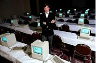 <p>In a highly controversial move, Steve Jobs was forced to resign from the company he helped create. Tensions between John Scully and Jobs over the sales failure of their 1984 Macintosh Computer resulted in Jobs leaving. He eventually returned in 1996 and helped revitalize Apple, turning it into the tech superpower it is today. </p>