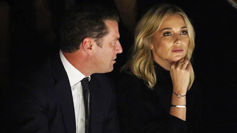 Karl Stefanovic made a misstep when celebrating his first wedding anniversary with Jasmine online. Photo: Getty Images