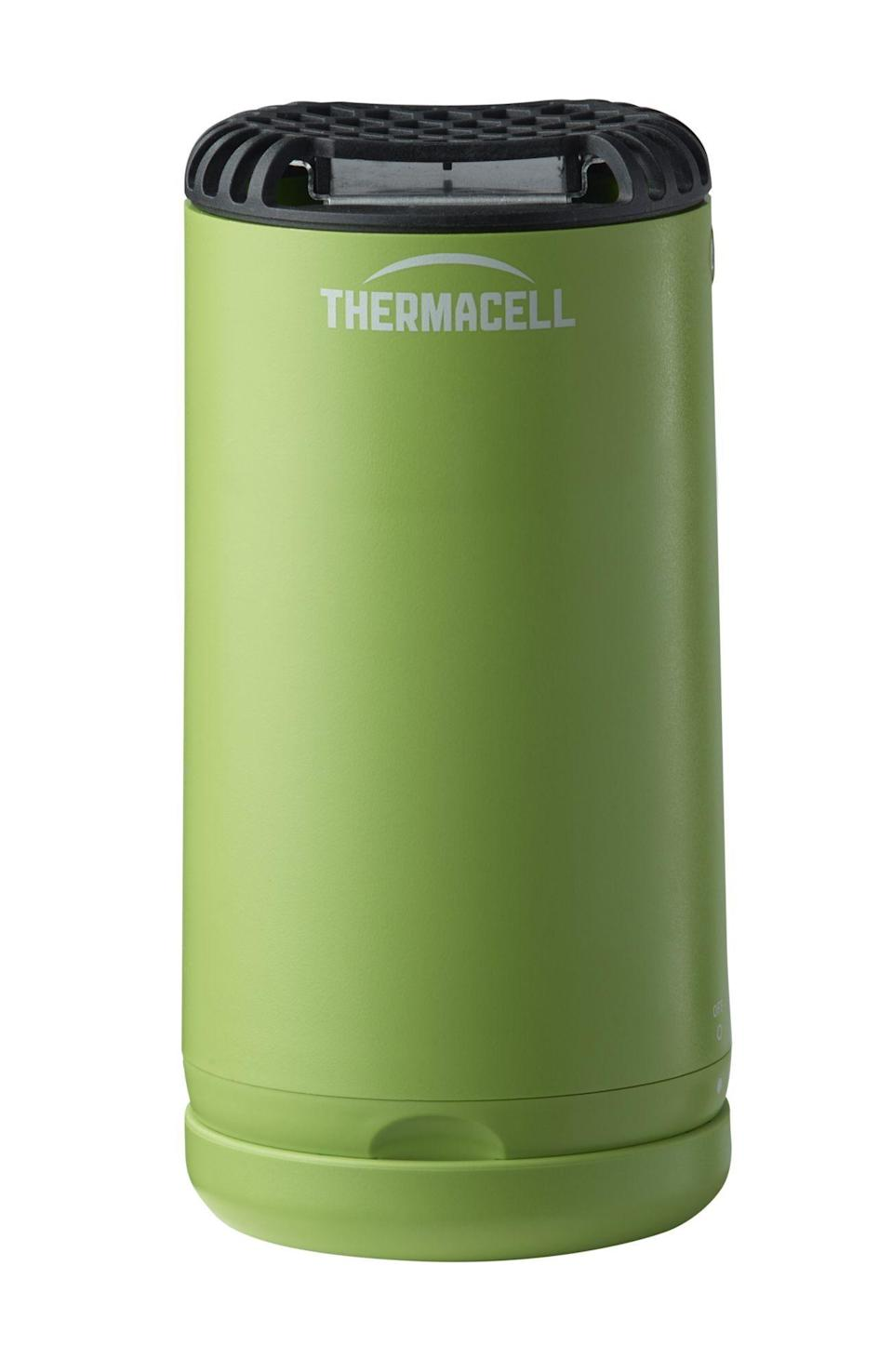 "<p><strong>ThermaCELL</strong></p><p>dickssportinggoods.com</p><p><strong>$24.99</strong></p><p><a href=""https://go.redirectingat.com?id=74968X1596630&url=https%3A%2F%2Fwww.dickssportinggoods.com%2Fp%2Fthermacell-patio-shield-mosquito-repeller-19thcuthrmcllptshodr%2F19thcuthrmcllptshodr&sref=https%3A%2F%2Fwww.countryliving.com%2Fshopping%2Fg27409029%2Fbest-bug-zapper%2F"" rel=""nofollow noopener"" target=""_blank"" data-ylk=""slk:Shop Now"" class=""link rapid-noclick-resp"">Shop Now</a></p><p>This repellent free solution creates a 15 foot zone of protection. You and your family will love this scent free way of dealing with those pesky mosquitos. One reviewer says ""We just set up the Patio Shield on our patio table near the pool, take a dip in the pool and when we get out don't have to worry about being bugged by those nasty flying blood suckers.""</p>"
