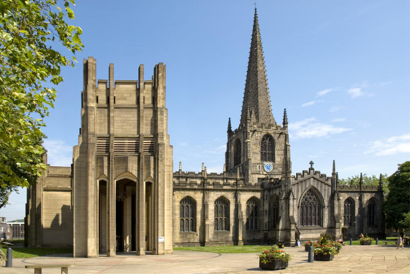 Sheffield Cathedral, South Yorkshire, England [Photo: Getty]