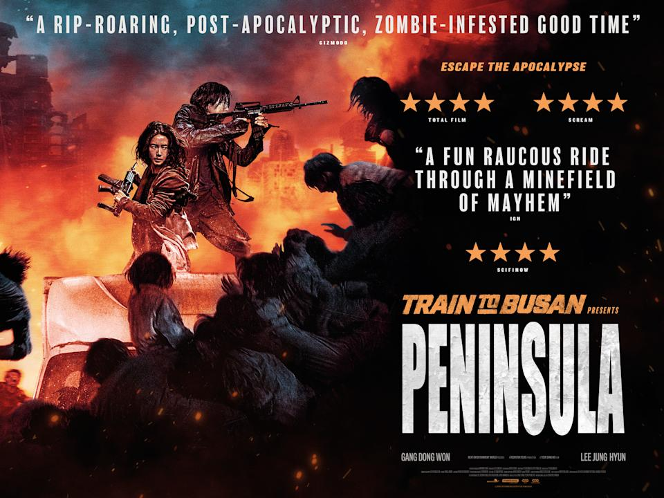 The poster for Train To Busan Presents: Peninsula (Studiocanal)