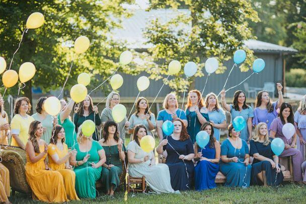 PHOTO: Ashley Sargent of Ashley Sargent Photography photographed a group of mothers with their 'rainbow babies' in Alabama. (Ashley Sargent Photography)