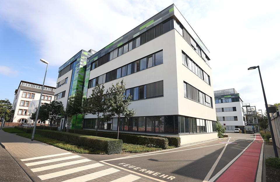 BioNTech HQ in Mainz, Germany. Photo: Kai Pfaffenbach/Reuters