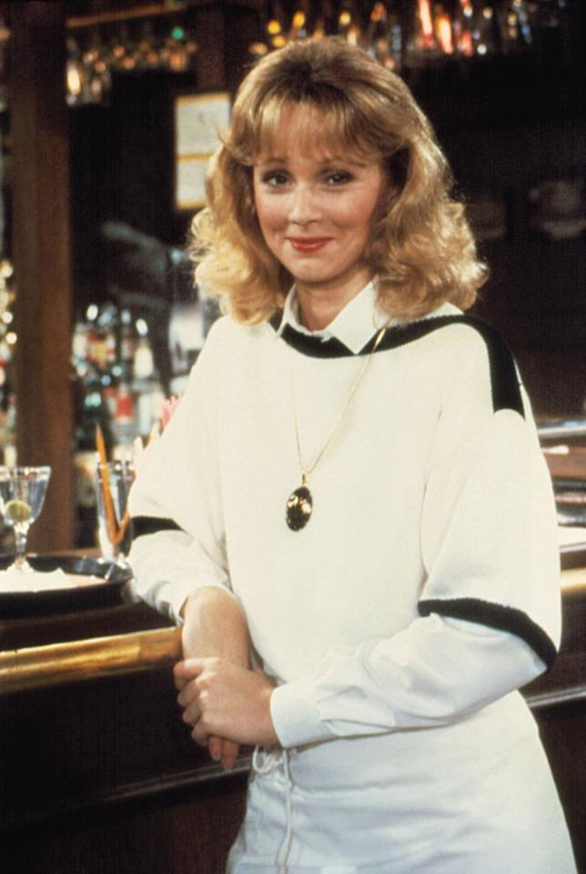 "Shelley Long, ""<a href=""/cheers/show/46"">Cheers</a>"" — As snooty barmaid Diane Chambers, Long teamed up with Ted Danson to set the standard for all will-they-or-won't-they TV couples to follow. But after five seasons, dreams of movie stardom (and on-set friction) led Long to hang up her apron, as Diane left Sam at the altar to pursue a writing career. Long did return, though, for a bittersweet guest spot on the show's 1993 series finale."