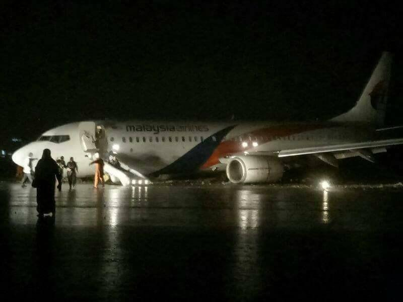 Skidded aircraft: 48 scheduled flights at Sibu Airport cancelled
