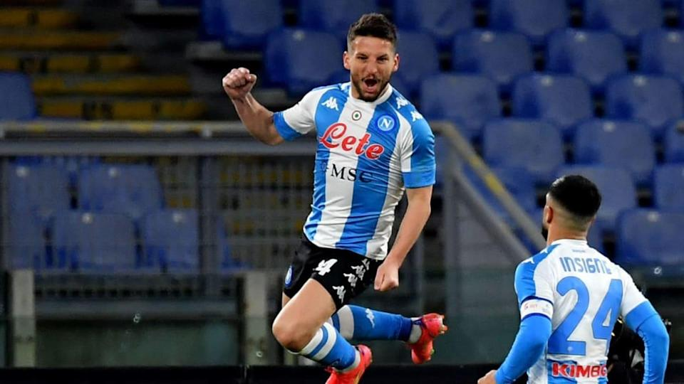 Dries Mertens | MB Media/Getty Images