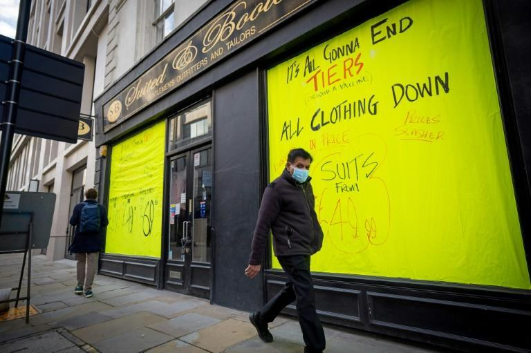 The end to the government's Covid furlough scheme on Thursday could see unemployment rise (AFP/Tolga Akmen)