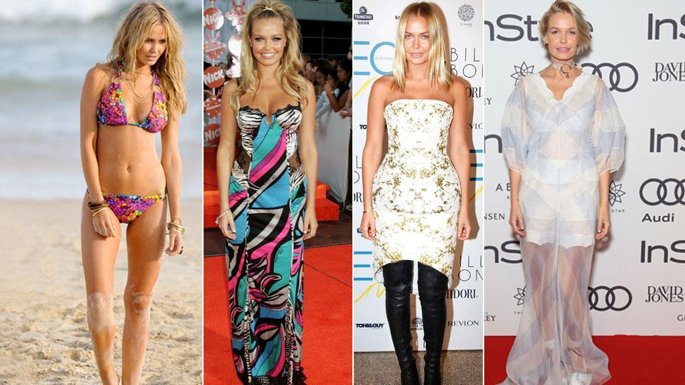 Lara Bingle over the years