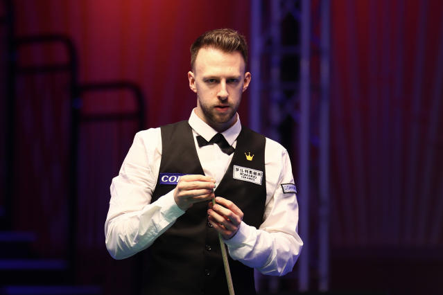 Judd Trump at the 2020 Coral Players Championship. (Photo by VCG/VCG via Getty Images)