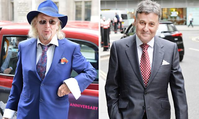 Owen Oyston, left, and Valeri Belokon. A high court judge has ruled that Oyston and his son Karl must pay £31.27m to the 20% shareholder Belokon.